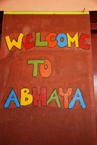 Visiting the Abhaya children home in Coimbatore