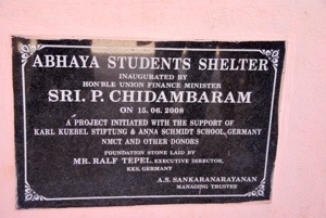 The Abhaya students shelter