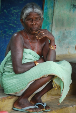 South India, a tribal woman