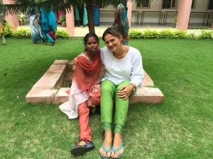 Sandhya and me