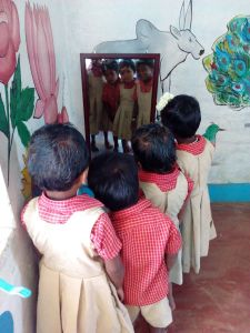 Even a mirror can make a difference