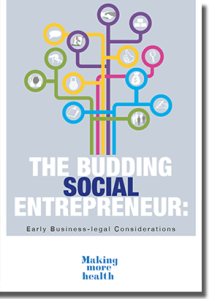 Brochure The budding social entrepreneur