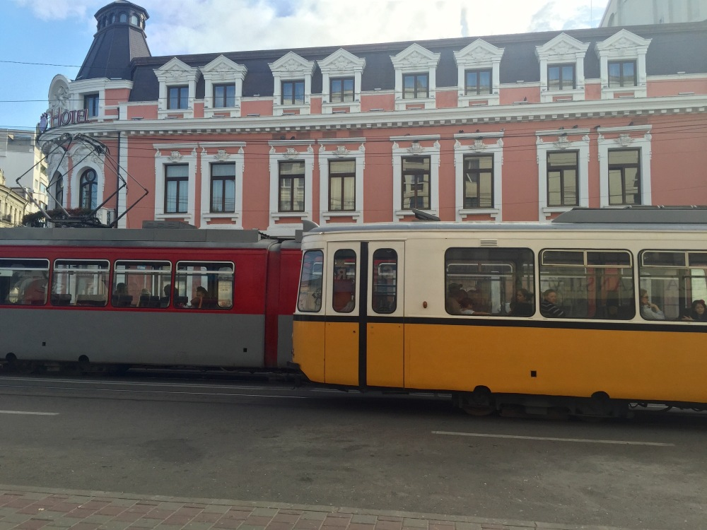 Trams everywhere