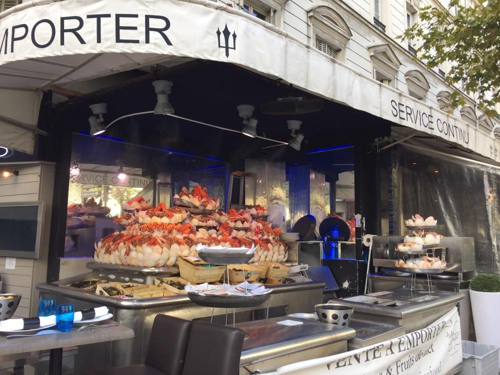Taste the seafood at the corner