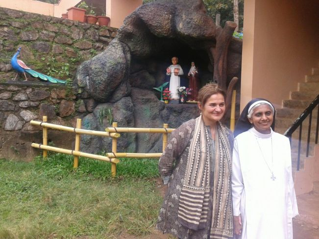 A visit at St. Peters convent and a good talk with the Sisiter about life