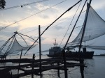 Cinese fishernets at Cochin, India