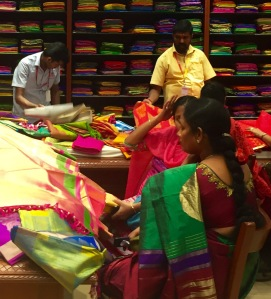 A colourful world- In a textile mall