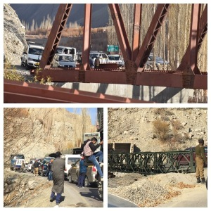 A broken bridge - things that happen