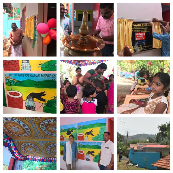 Inauguration of the 3rd MMH Kindergarten in South India