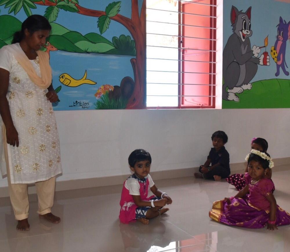 Anil, the kindergarten teacher