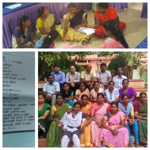 Two days trainings on mental health for selfhelp group leaders in South India