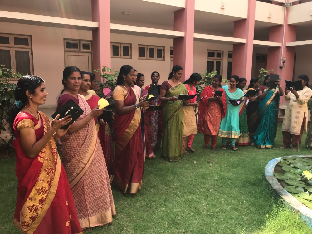2nd digital training program started for anganwadi teachers