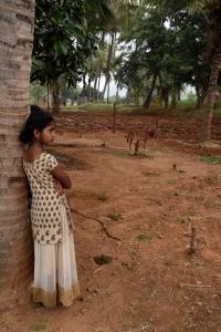Visiting a farmer village in Tamil Nadu