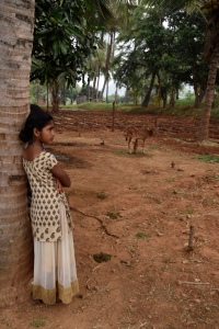 Visiting a farmer village in Tamil Nadu