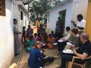 Training for tribal women on goat health