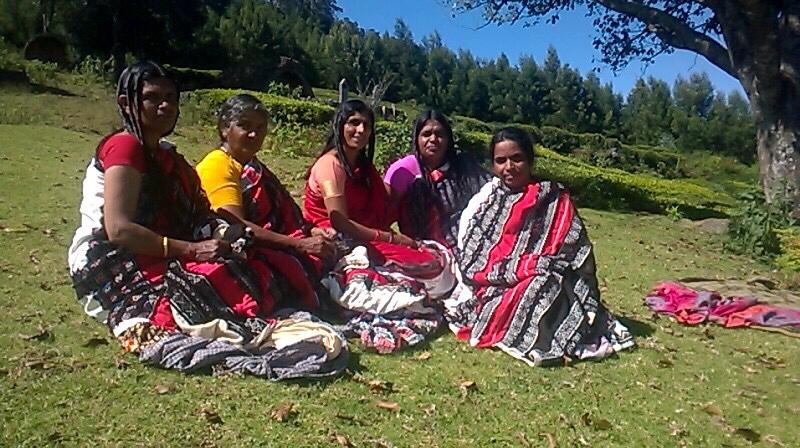 Tribal women, tribal arts