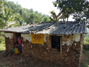 A kindergarten in a remote area