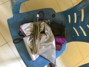 8 items- one umbrella
