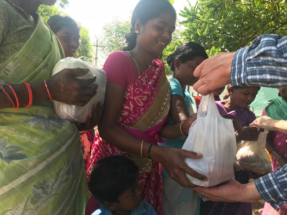 Visit to a rural self-help group