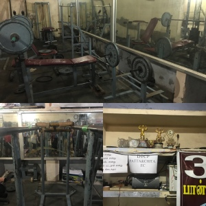 Visiting a gym at the BoP