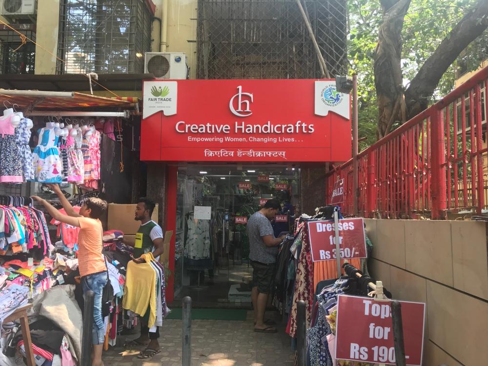 Fair trade shop in Mumbai