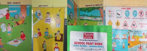 school paintingcollage