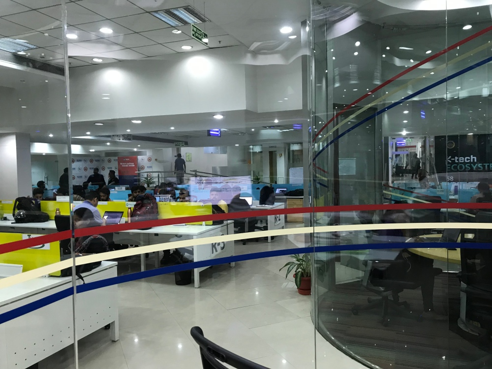 Office space for startups participating in the 10,000 startups campaign